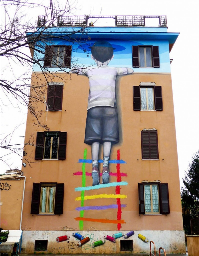 Julien Malland, alias Seth Globepainter