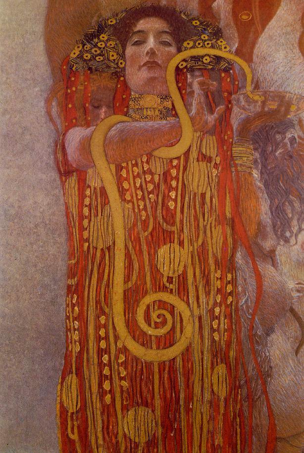 Medicina by Gustave Klimt